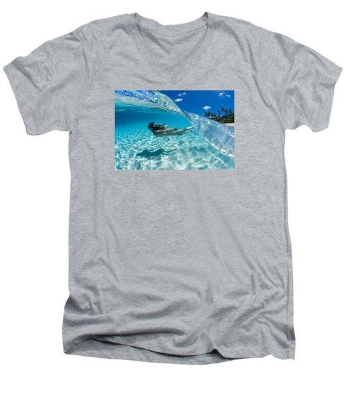 Aqua Dive Men's V-Neck T-Shirt