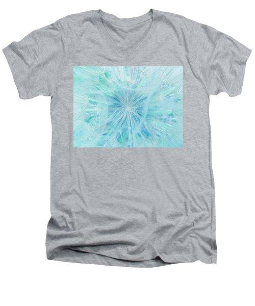 Aqua Salsify Men's V-Neck T-Shirt