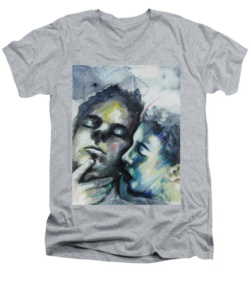 Aquatic Dreams Men's V-Neck T-Shirt
