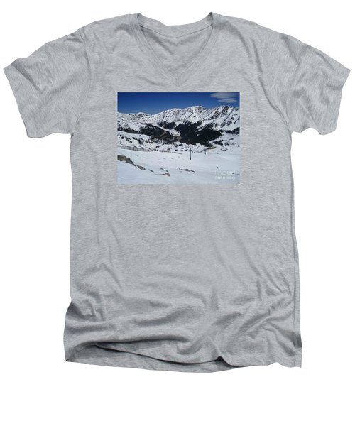 Arapahoe Basin June 2  Men's V-Neck T-Shirt