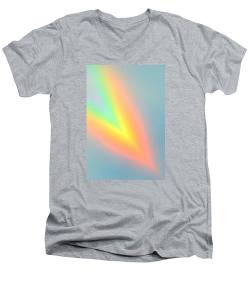 Arc Angle Two Men's V-Neck T-Shirt by Lanita Williams