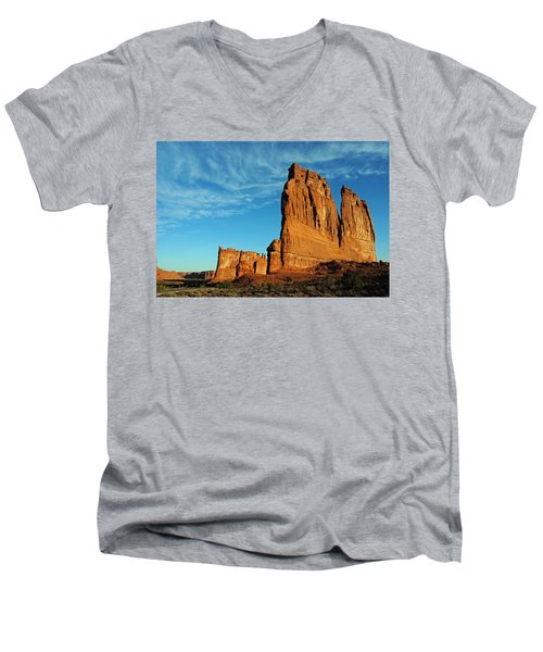 Arches National Park 47 Men's V-Neck T-Shirt