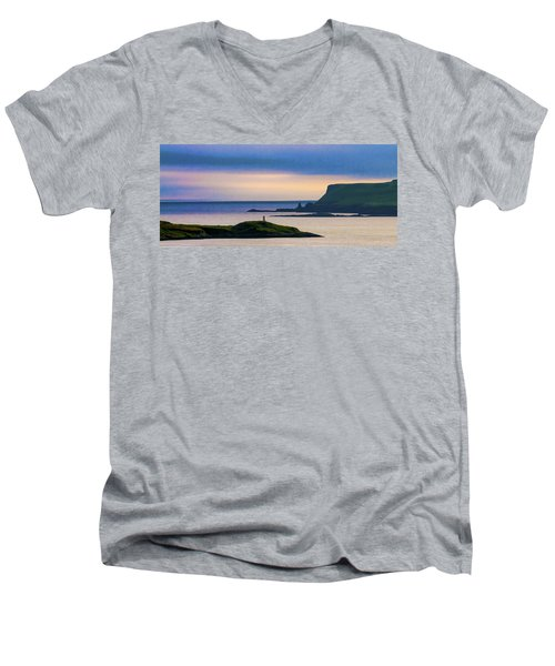 Ardtreck Point Lighthouse Men's V-Neck T-Shirt