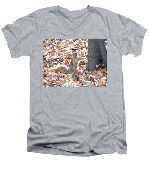 Are You Looking At Me ? Men's V-Neck T-Shirt