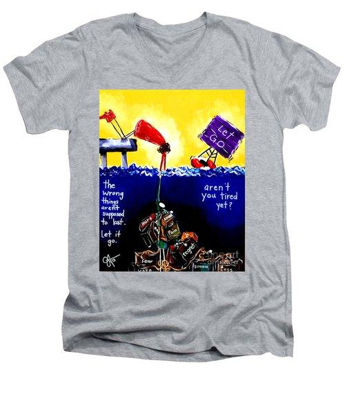 Aren't You Tired Yet? Men's V-Neck T-Shirt