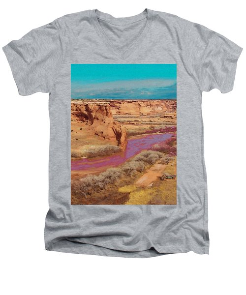 Arizona 2 Men's V-Neck T-Shirt