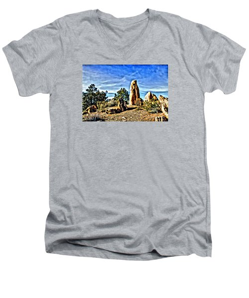 Arizona Monolith Men's V-Neck T-Shirt