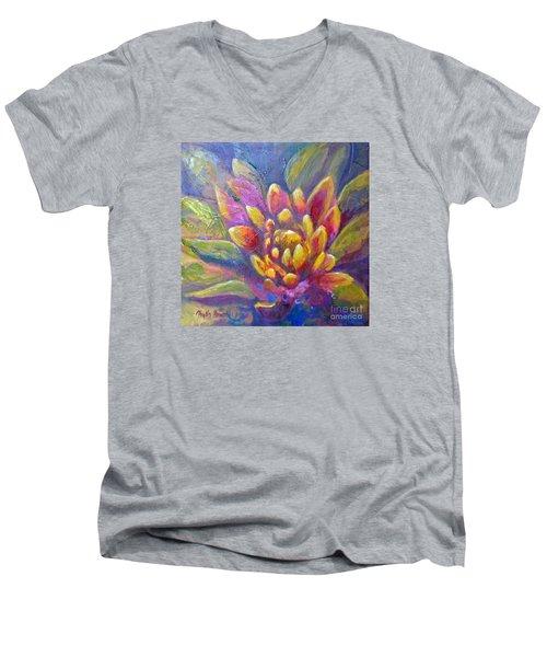Artichoke Leaves Men's V-Neck T-Shirt
