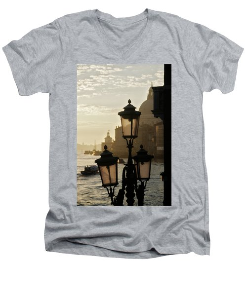 As The Day Begins  Men's V-Neck T-Shirt