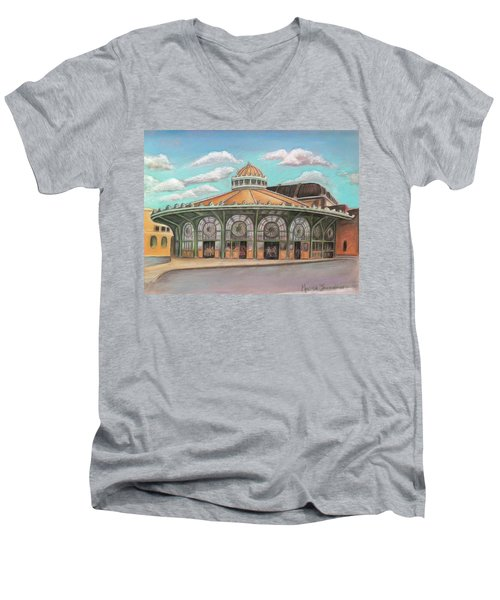 Asbury Park Carousel House Men's V-Neck T-Shirt