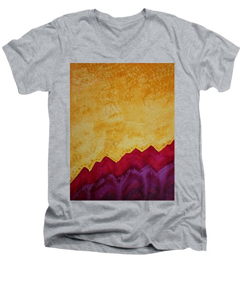 Ascension Original Painting Men's V-Neck T-Shirt