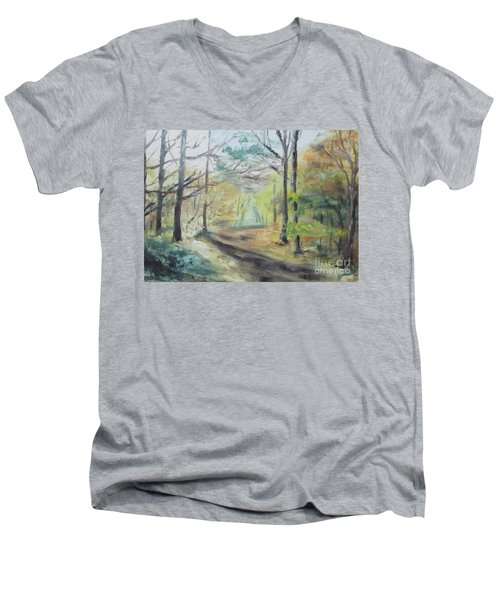 Ashridge Woods 2 Men's V-Neck T-Shirt