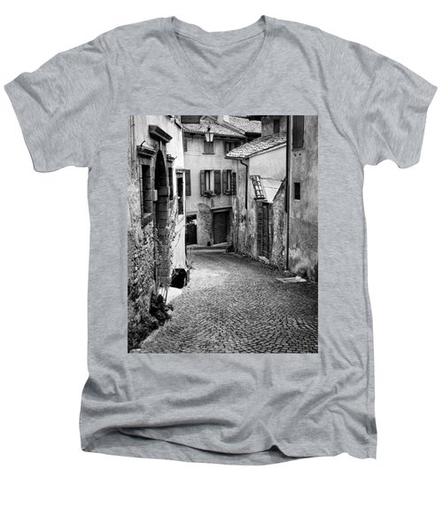 Asolo Men's V-Neck T-Shirt by William Beuther