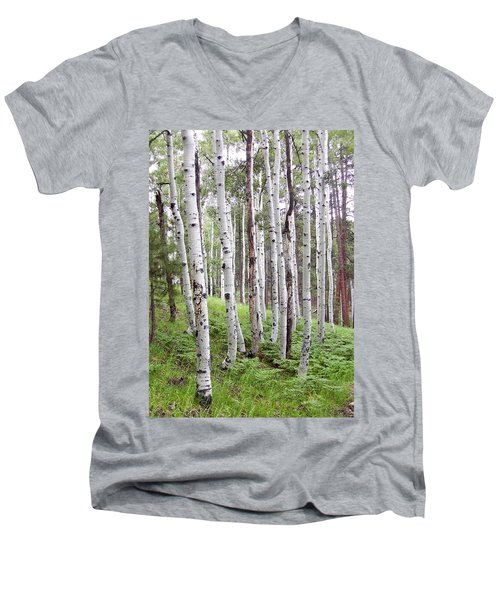 Aspen Forest Men's V-Neck T-Shirt