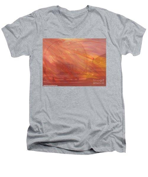 Asteroid Men's V-Neck T-Shirt