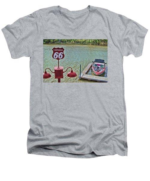 At Lake Havasu Men's V-Neck T-Shirt