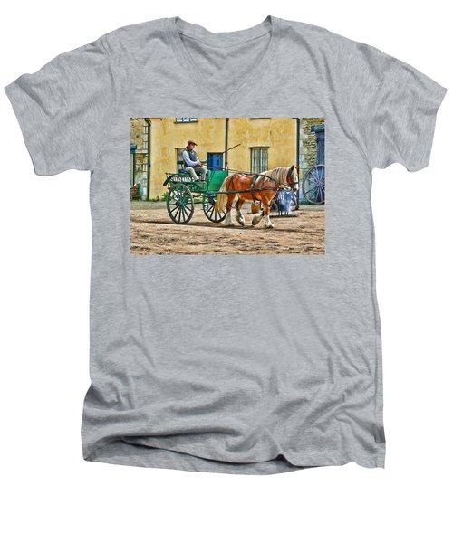 At The Blacksmiths Men's V-Neck T-Shirt