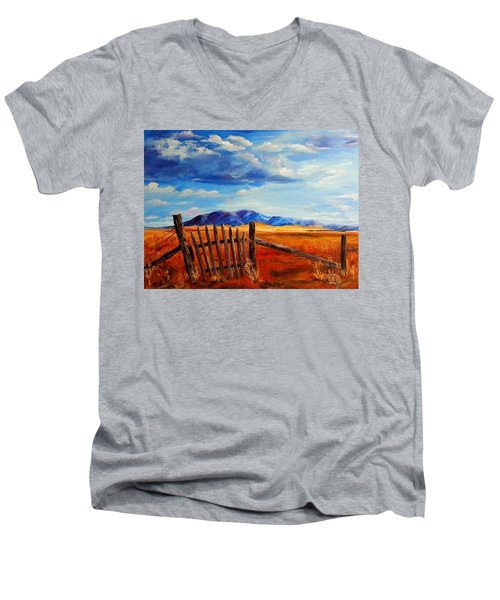 Atypical Men's V-Neck T-Shirt