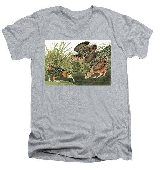 Audubon Woodcock Men's V-Neck T-Shirt