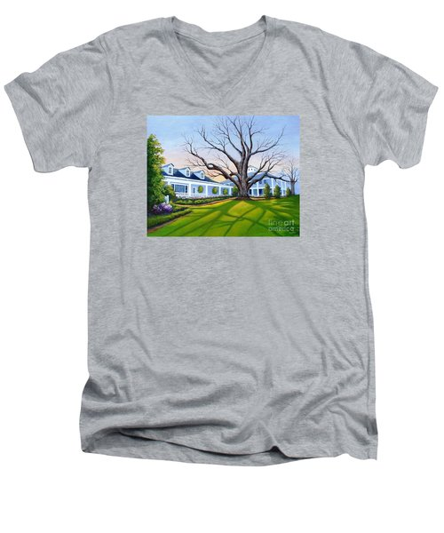Augusta National Clubhouse Men's V-Neck T-Shirt