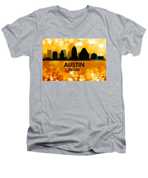Austin Tx 3 Men's V-Neck T-Shirt