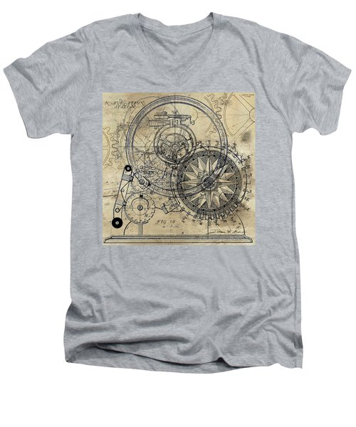 Autowheel II Men's V-Neck T-Shirt