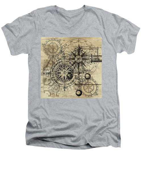 Autowheel IIi Men's V-Neck T-Shirt
