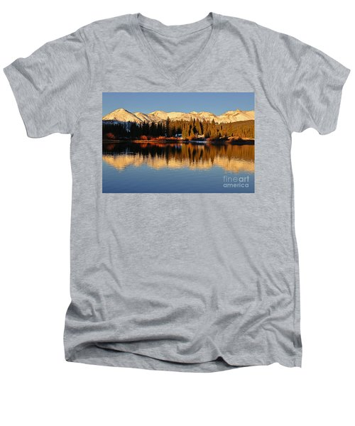 Autumn Colors At Molas Men's V-Neck T-Shirt