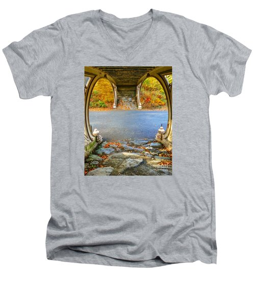 Autumn Crunch  Men's V-Neck T-Shirt