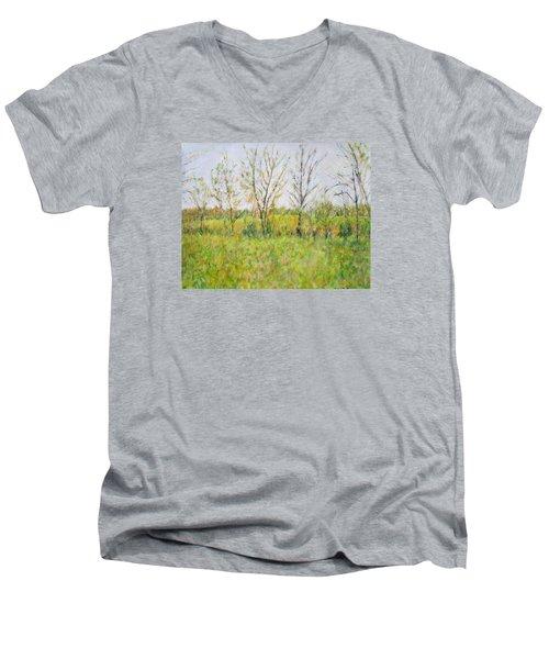 Autumn In Kentucky Men's V-Neck T-Shirt