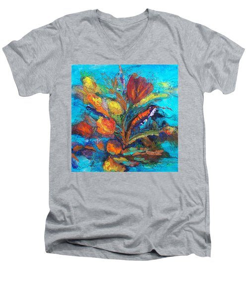 Autumn In Oklahoma Men's V-Neck T-Shirt