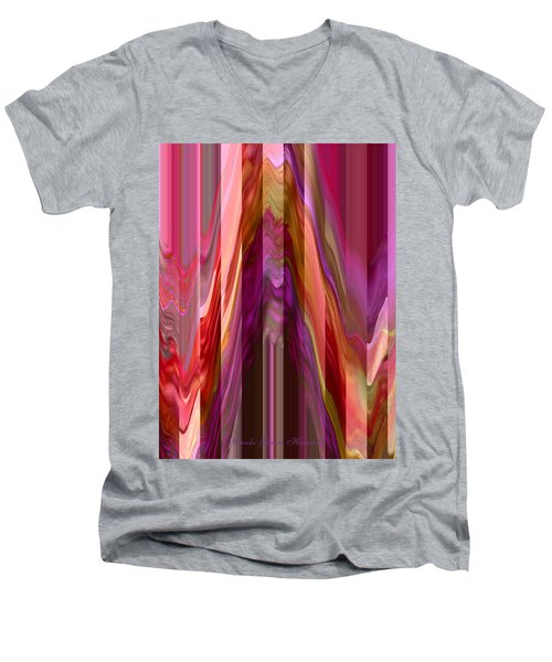 Autumn Leaves 1 - Abstract Autumn Leaves - Photography Men's V-Neck T-Shirt