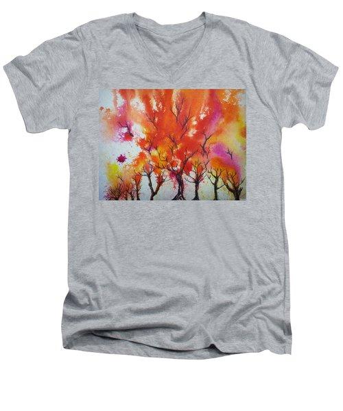 Autumn Riot Men's V-Neck T-Shirt