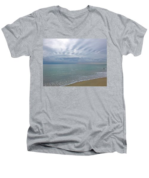 Autumn Clouds Men's V-Neck T-Shirt