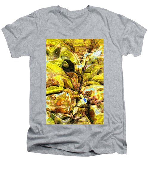 Autumn's Bones Men's V-Neck T-Shirt
