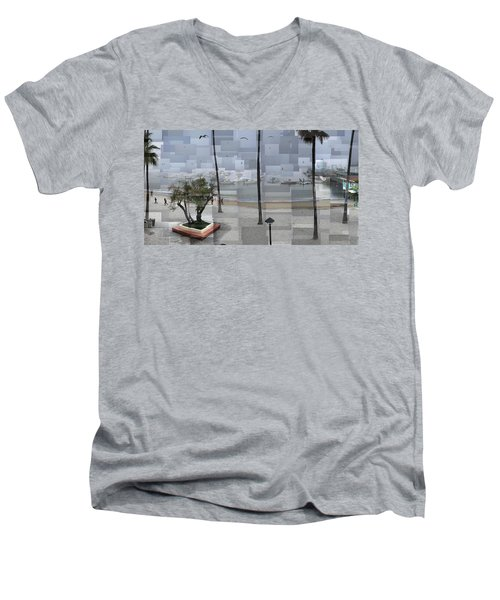 Avalon Fog Men's V-Neck T-Shirt