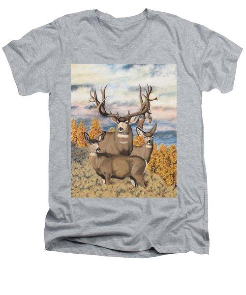Avery Buck Men's V-Neck T-Shirt