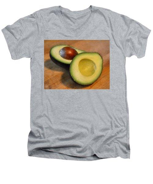 Avocado Men's V-Neck T-Shirt