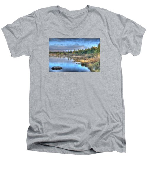 Awakening Your Senses Men's V-Neck T-Shirt by Shelley Neff