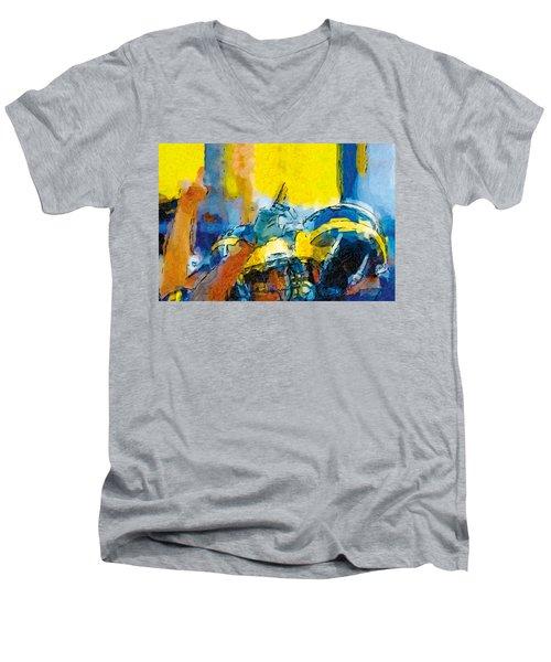 Always Number One Men's V-Neck T-Shirt