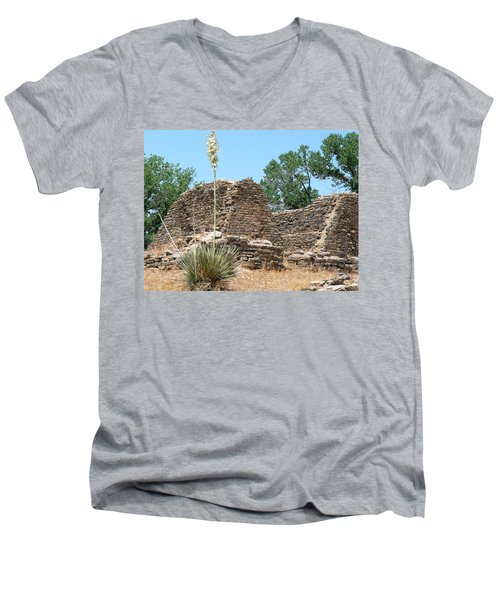 Aztec Ruins National Monument Men's V-Neck T-Shirt