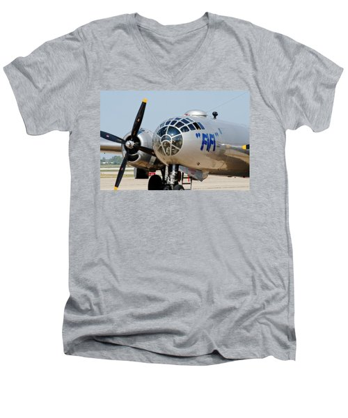 B-29 Bomber Fifi Men's V-Neck T-Shirt