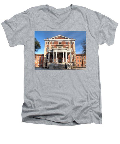 Babcock Building-2 Men's V-Neck T-Shirt