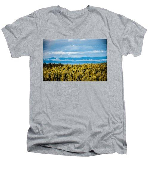 Backroad Ocean View Men's V-Neck T-Shirt