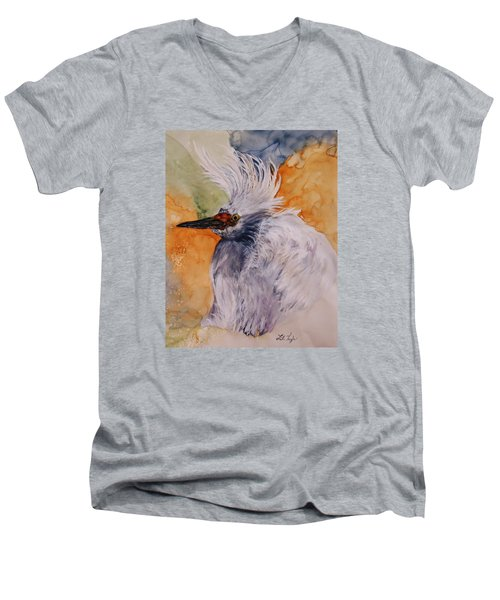 Bad Hair Day Men's V-Neck T-Shirt by Lil Taylor