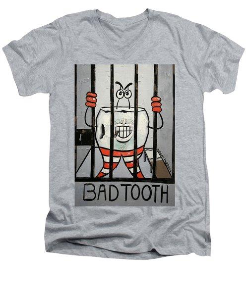 Bad Tooth Men's V-Neck T-Shirt