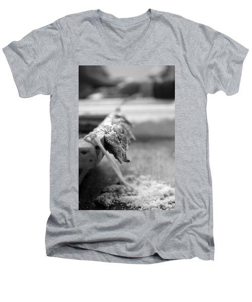 Bait On Hooks  Men's V-Neck T-Shirt