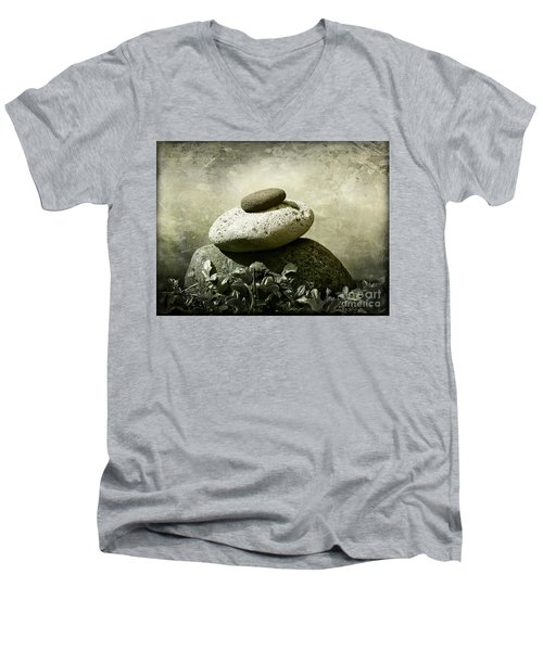 Balanced 2 Men's V-Neck T-Shirt