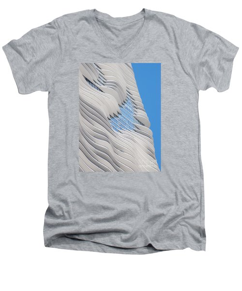 Balconies Men's V-Neck T-Shirt by Ann Horn