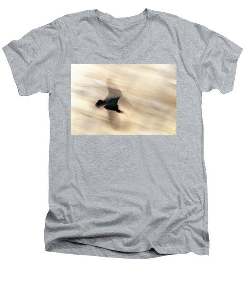 Bald Ibis Men's V-Neck T-Shirt